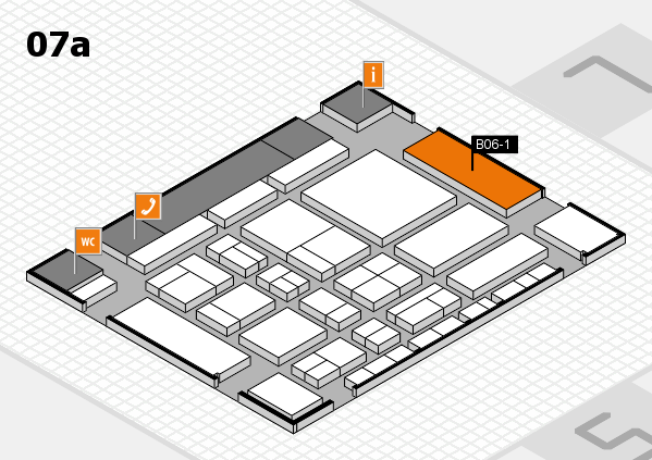 CARAVAN SALON 2017 hall map (Hall 7a): stand B06-1