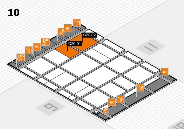 CARAVAN SALON 2017 Hallenplan (Halle 10): Stand C20-01, Stand C20-02