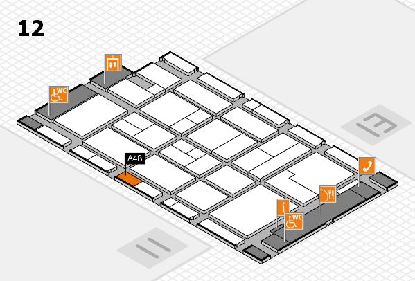 CARAVAN SALON 2017 Hallenplan (Halle 12): Stand A48