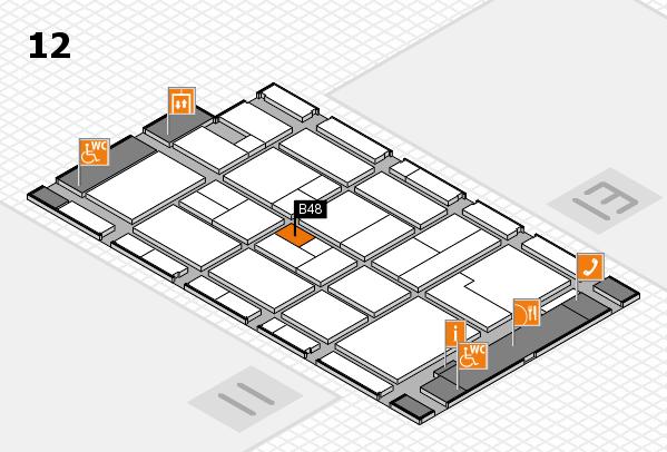 CARAVAN SALON 2017 Hallenplan (Halle 12): Stand B48