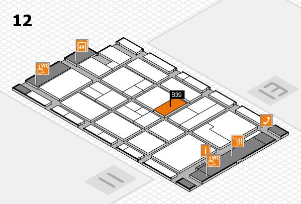 CARAVAN SALON 2017 Hallenplan (Halle 12): Stand B39