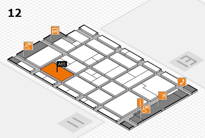 CARAVAN SALON 2017 Hallenplan (Halle 12): Stand A65