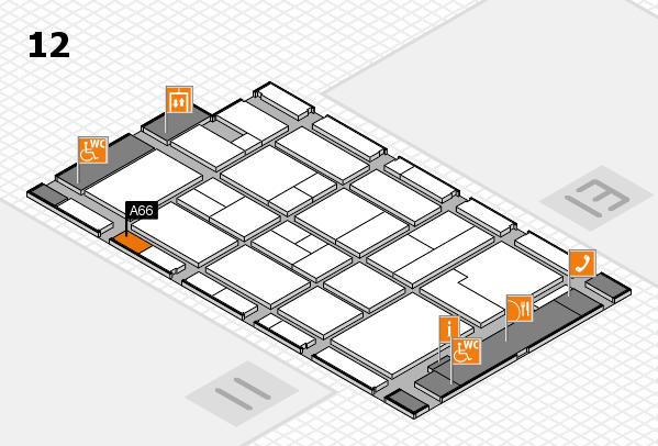 CARAVAN SALON 2017 Hallenplan (Halle 12): Stand A66