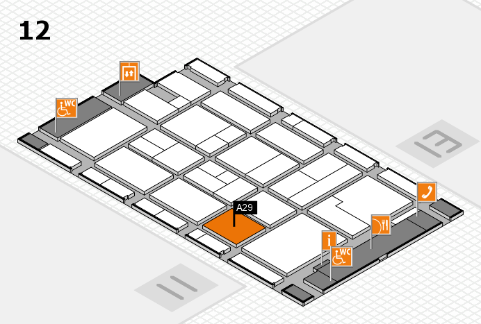 CARAVAN SALON 2017 Hallenplan (Halle 12): Stand A29
