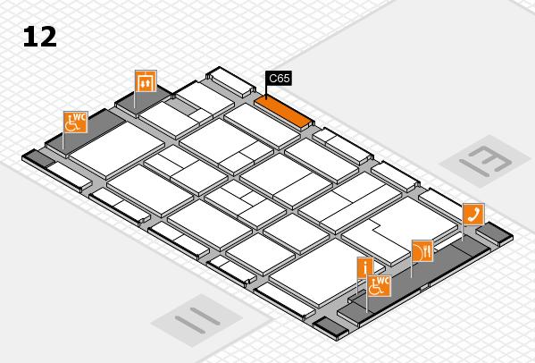 CARAVAN SALON 2017 Hallenplan (Halle 12): Stand C65