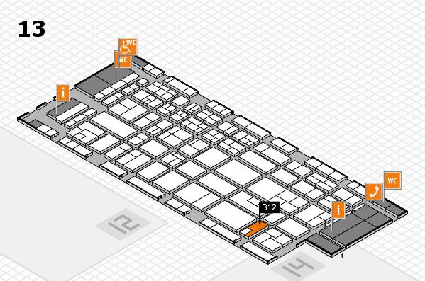CARAVAN SALON 2017 Hallenplan (Halle 13): Stand B12