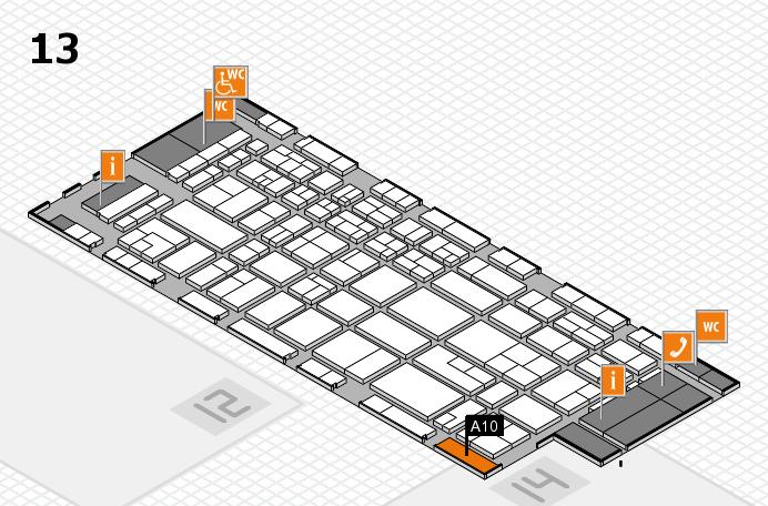 CARAVAN SALON 2017 Hallenplan (Halle 13): Stand A10