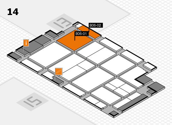 CARAVAN SALON 2017 Hallenplan (Halle 14): Stand B06-01, Stand B06-02