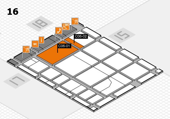 CARAVAN SALON 2017 Hallenplan (Halle 16): Stand C06-01, Stand C06-02