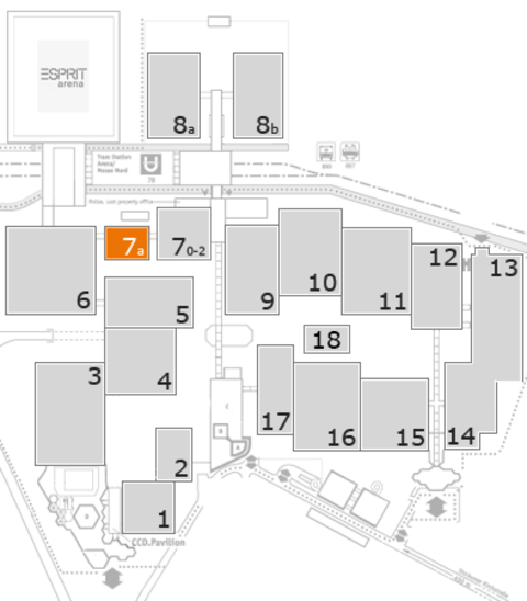 CARAVAN SALON 2017 Geländeplan: Halle 7a