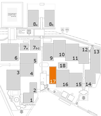 CARAVAN SALON 2017 Geländeplan: Halle 17