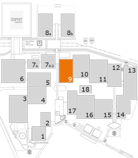 CARAVAN SALON 2016 fairground map: Hall 9