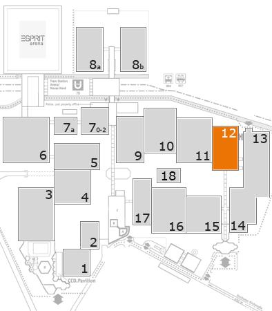 CARAVAN SALON 2017 Geländeplan: Halle 12