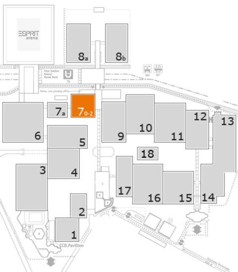 CARAVAN SALON 2016 fairground map: Hall 7
