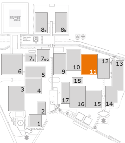 CARAVAN SALON 2016 fairground map: Hall 11