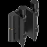 180° Scharnier GD Zn schwarz gepulvert 1110 U83