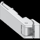 Scharnier GD Zn weißaluminium gepulvert 3060 U380 BK