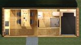 Modularer Campingcube Sanitär