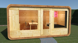 Modularer Campingcube