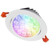 9W IP54 RGB+CCT Deckenlampen Einbaustrahler (FUT062)