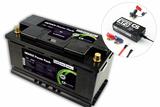 CS ELECTRONIC Lithium LiFePO4 Mover Power Pack Set 12,8V 60Ah Pb eq 120Ah