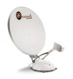 Automatic satellite antenna ASR 850 FLAT PRESTIGE DF