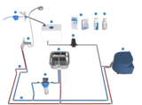 Installationsbeispiel Frischwassersystem