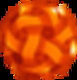 CalabiYau Designer Lampe orange 17 45cm
