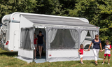 Awnings with enclosure FIAMMA ZIP