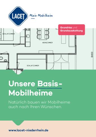 Lacet Niederrhein - Unsere Basis-Mobilheime Broschüre 2020