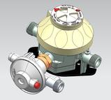 CO 600 Auto change over regulator unit - Caravan
