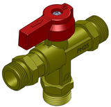 Manual change over valve