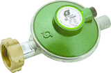 """Standard regulator with PRV, auto excess flow and 1/4"""" LH outlet."""