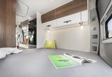 EuroCaravaning VANTourer 2021 600 D Bett Durchschuss nach vorne