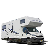 IVECO alkoven 1x1