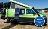 SOLARA Power Mobil Solarmodule mit 110 Watt (440 Wh/d*) - Die leichte und mobile SOLARA Solaranlage für unterwegs. Immer Strom wo man Ihn braucht. Einfach aufstellen, anschließen und los gehts.