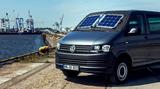 Solara Power Mobil Plus Solarmodule mit 102 Watt. SOLARA Mobile Solarmodule für Volkswagen T5 und T6, Mercedes Vito sowie Fiat Ducato. Solartechnik die Sonne einfängt und das Auto verschattet. - damit es nicht zu warm wird!