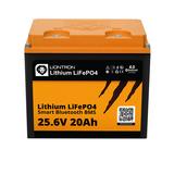 Lithium LiFePO4 LX Smart BMS 25.6V 20Ah