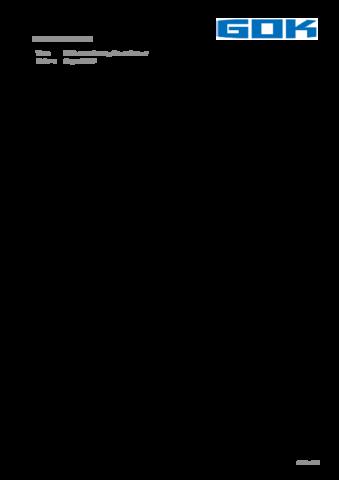 GOK Neuentwicklung Crash Sensor DE