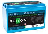 Relion RB100-LT 12 V 100 Ah RB 100 LT LiPo Batterie Akku