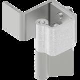Hinges not visible for interior door - 90° swing hinge steel galvanized 1046-U1