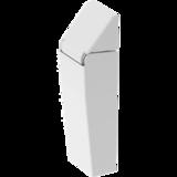 Spring hinge, weight compensating - 80° Weight compensating spring hinge steel galvanized 1715-U333