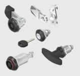 Sash locks and twist-lock fasteners