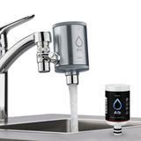 Nano - For legionella, bacteria and micro germs. Ultra-filtration up to 0.1 µm.