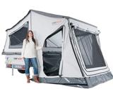 Economy tent trailer