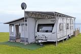 Freistehendes Carportschutzdach für Zelt Nordkap
