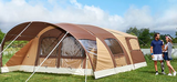 """Cheroky - The first folding caravan with a """"dome"""" awning."""