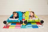 Kid-O-Bunk Einzelbetten blau/grün