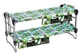 Kid-O-Bunk Kinderetagenbett mit Seitentaschen block pattern