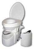 Nature's Head® Trenntoilette mit Spider Handle und Extra Urin Behälter